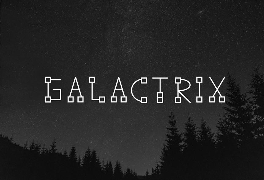 Galactrix / Typeface