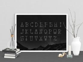 Galactrix / Font