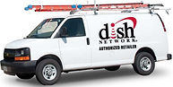 DISH Network Installation Van