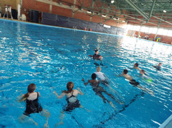 Swim Quals - Navy rescue swimmer