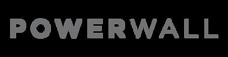 Tesla Power Wall Logo Text