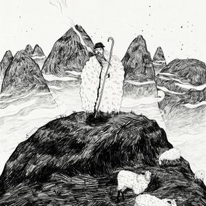 shepherd on high mountains