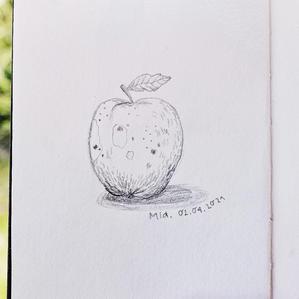EIn Apfel für dich!