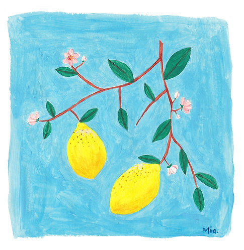 A Lemon a day keeps the doctor away!