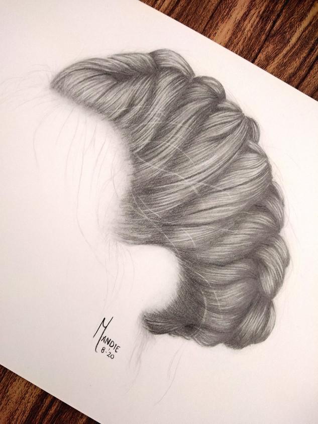 Hair study: Braid
