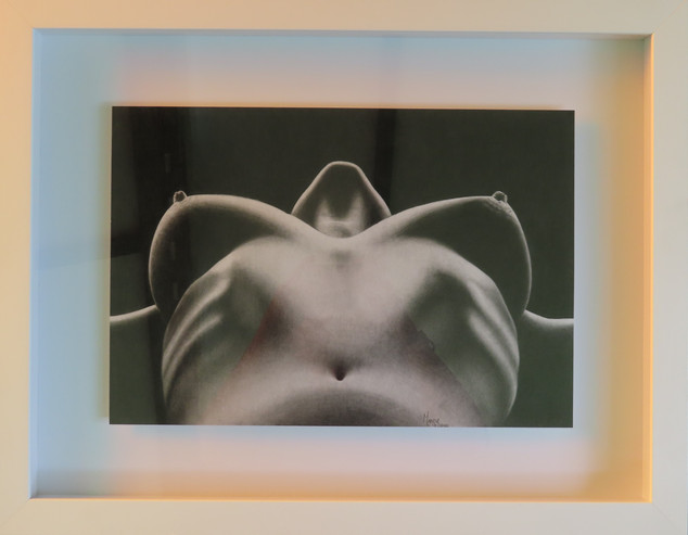 Nude Breast Profile