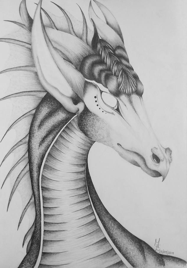 White Eyed Dragon