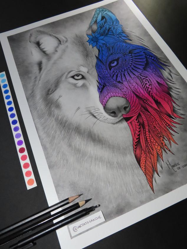 Wondorous Wolf Commission