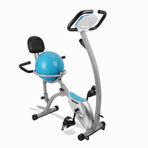 Folding Exercise Bike with Yoga Ball Seat OT098