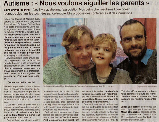 Ouest France conf octobre le bon article