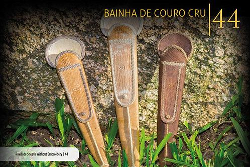 BAINHA EM COURO CRU SEM BORDADO