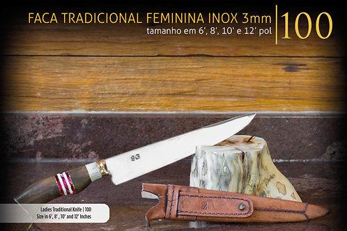 FACA TRADICIONAL FEMININA