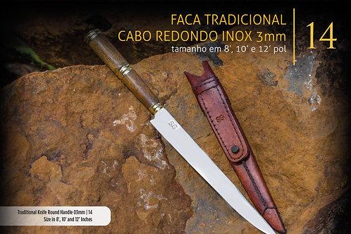 FACA TRADICIONAL CABO REDONDO