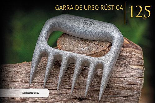 GARRA DE URSO RÚSTICA