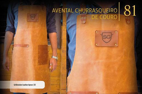 AVENTAL CHURRASQUEIRO COURO