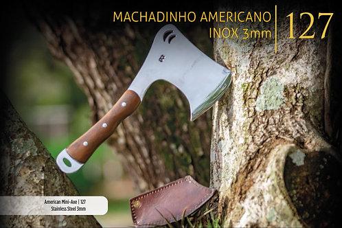 MACHADINHO AMERICANO INOX 3MM