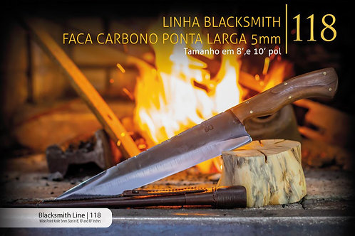 LINHA BLACKSMITH FACA PONTA LARGA 5MM