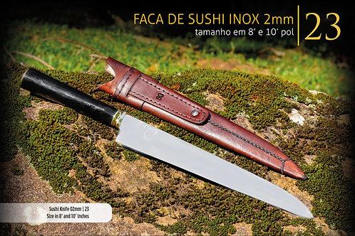 FACA DE SUSHI E SASHIMI