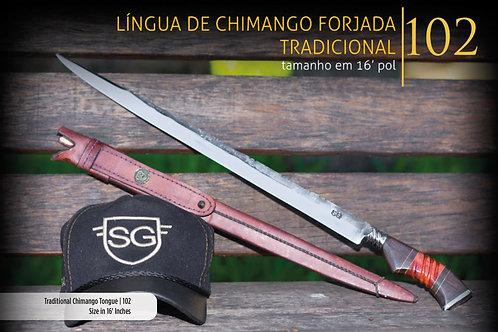 FACA LÍNGUA DE CHIMANGO -TRADICIONAL
