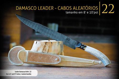 FACA DAMASCO LEADER - CABOS ALEATÓRIOS