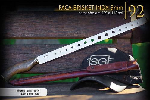 FACA BLISKET INOX