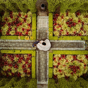 Garden Inspired Bohemian Photo Shoot