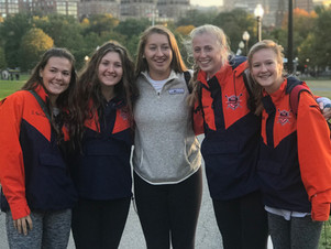 TRC Makes NC Rowing History at The Head of the Charles in Boston 2018