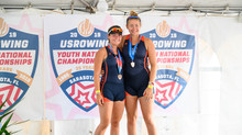 Benestad and VonDauber Take Bronze at USRowing Youth Nationals!
