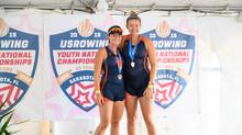 Benestad and VonDauber Take Bronze at USRowing Youth Nationals!