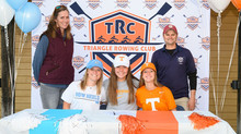Seniors Sign to Row at the Next Level!