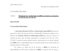 ABOL iniciará divulgação de notas técnicas a respeito das normativas CFO 195, 196, 197, 198 e 199