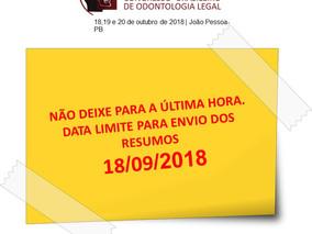 Atenção para a data limite de inscrição de trabalhos no 14º CBOL