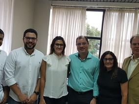 Reunião com a Casa Civil é realizada visando o aumento de vagas para Perito Odontolegista em Roraima