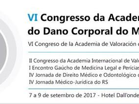 ABOL participa do VI congresso da academia de Valoração do dano corporal do Mercosul