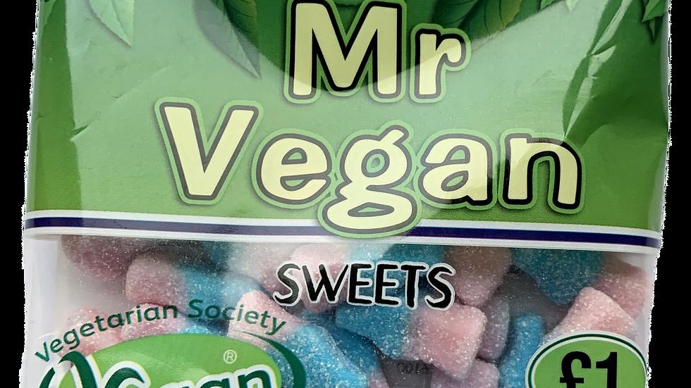 Mr Vegan Sour Bubblegum Bottles