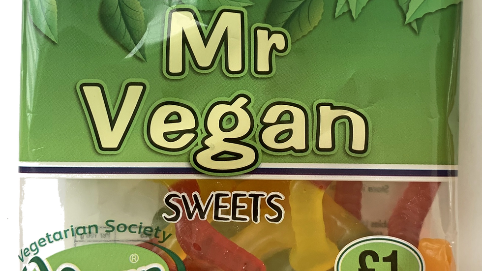 Vegan Jelly Worms