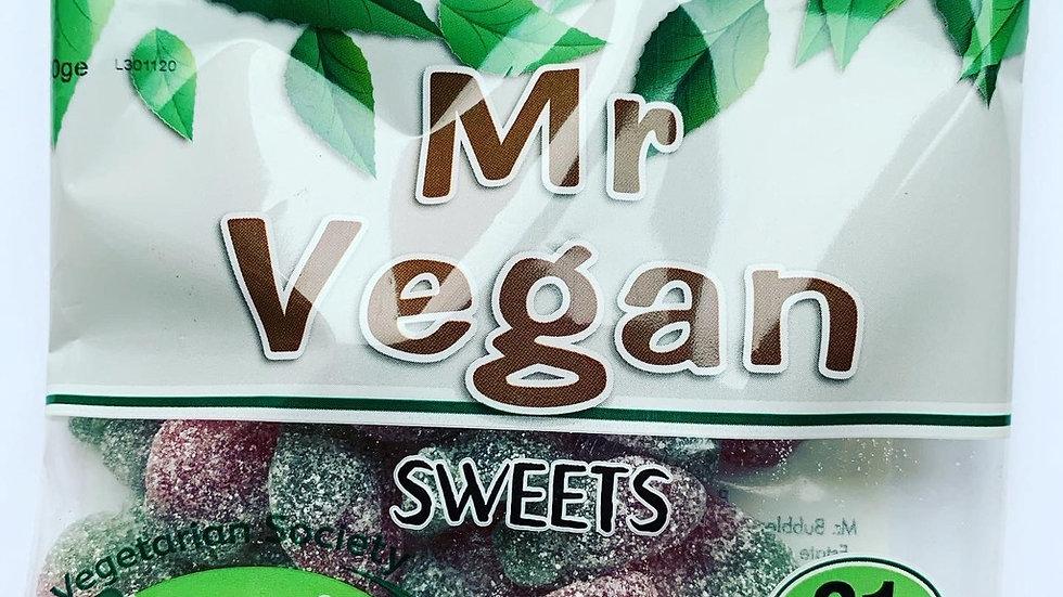 Mr Vegan Sour Strawberries
