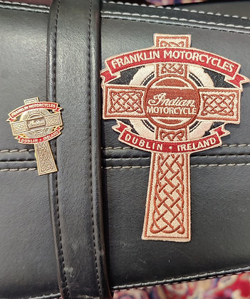 Franklin Indian Patch and PIn compbo - Free Shipping world wide