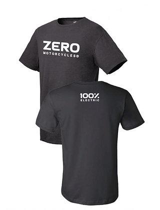 ZERO MotorcycleTee Shirt Black