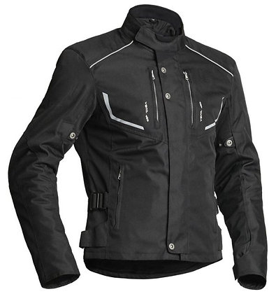 Lindstrands Textile jacket Halden Black