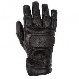 SPADA LEATHER GLOVES CLINCHER CE BLACK