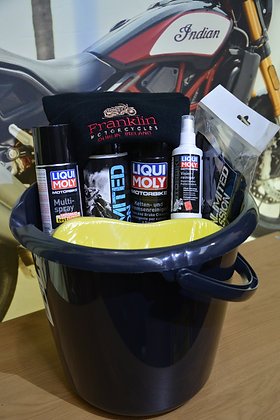 Cleaning Hamper for Motorcycles