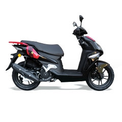 WK Bike 50cc learner Scooter  - RED/BLACK