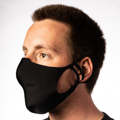 REUSABLE PROTECTIVE FACE MASK – SP2 MEN BLACK
