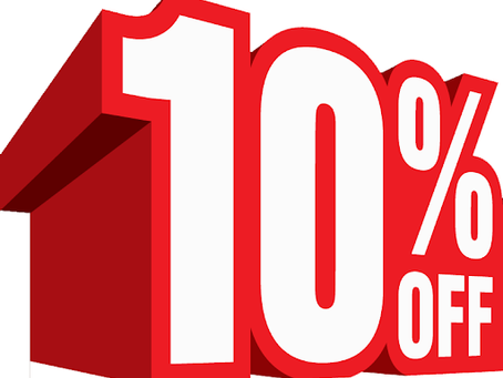 10% DISCOUNT FOR ALL FRONTLINE / ESSENTIAL WORKERS