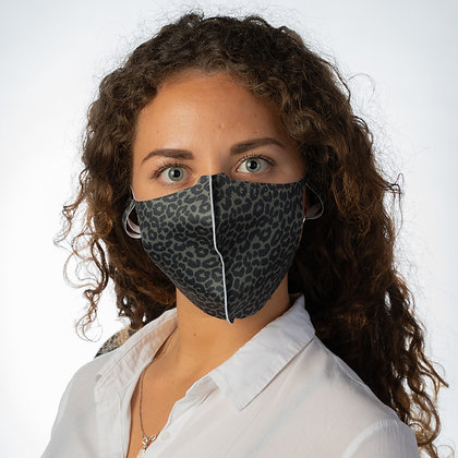 REUSABLE PROTECTIVE FACE MASK – SP2 WOMAN – GREEN CHEETAH