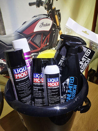 Maintenance Hamper for Motorcycles