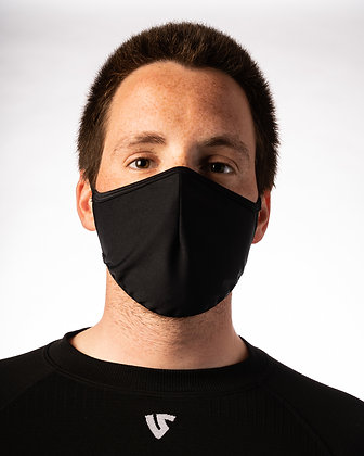 Reusable Protective Face Mask by UnderShield-  Unisex - Black or White