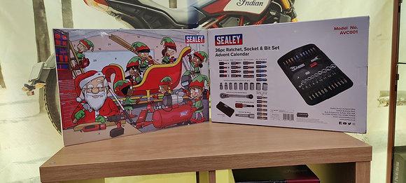 Sealey 36pc Rachet Socket & Bit Set Advent Calander