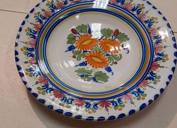 Plato decorativo ceramica